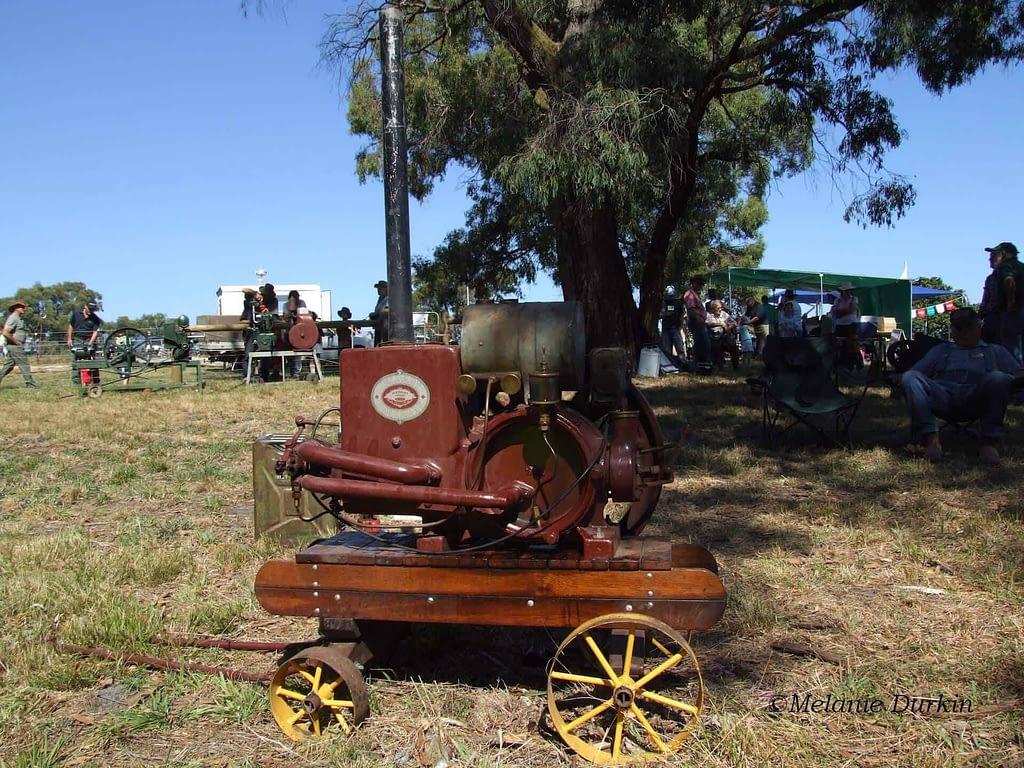 vintage jelbart engine
