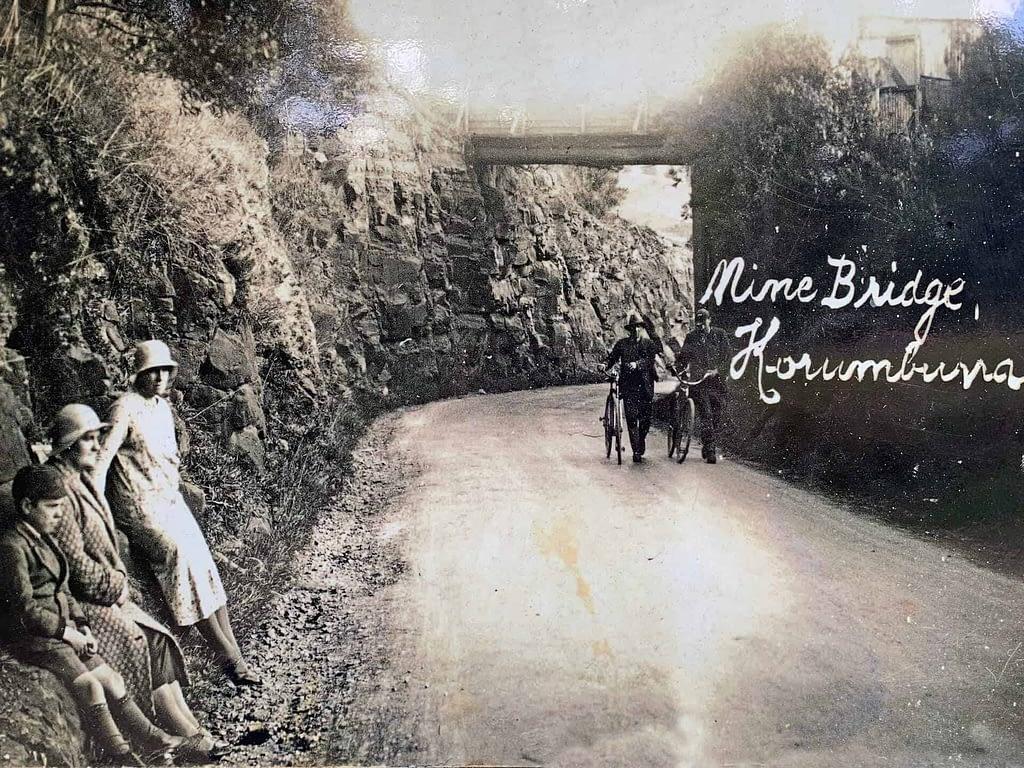 historic Mine Bridge Korumburra