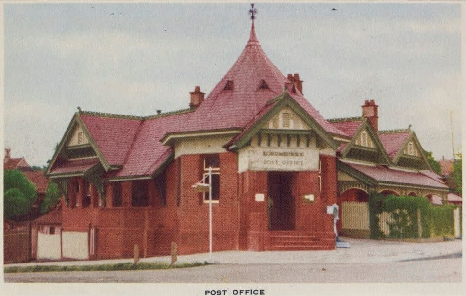 Korumburra Post Office, historical