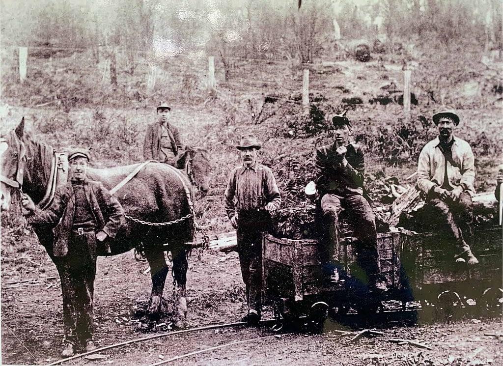 historic coal skip on Skip Track Korumburra