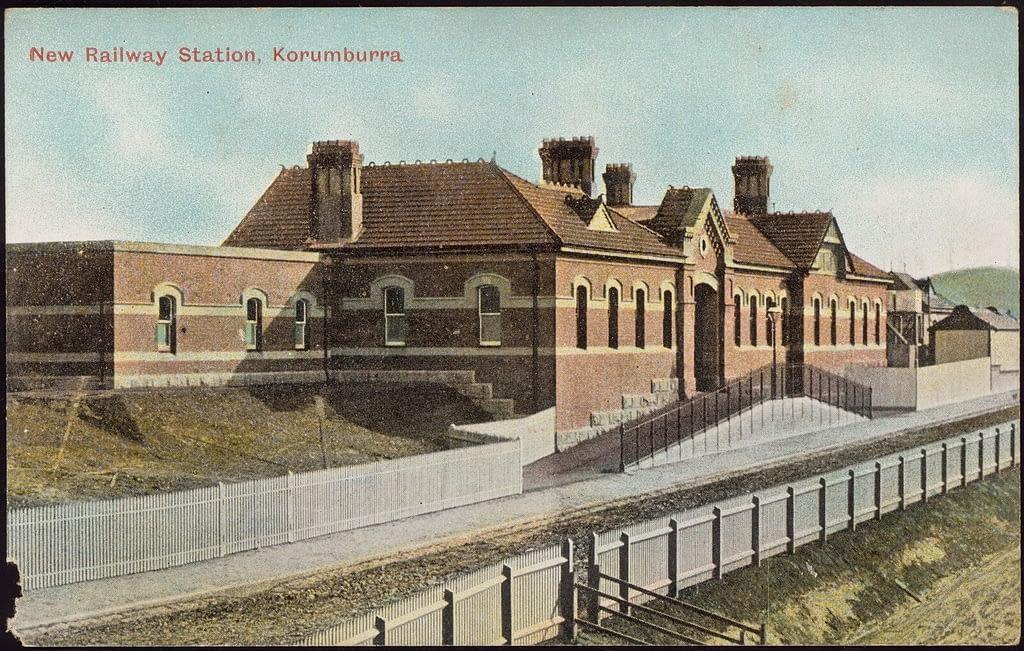 Korumburra Railway Station 1910