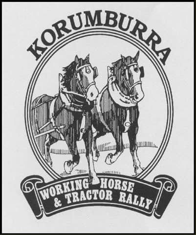 Working horse and Tractor Rally logo