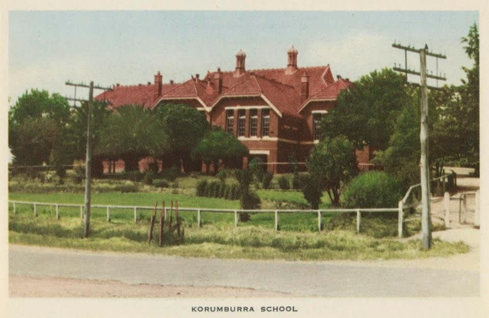 Korumburra School, historic circa 1950