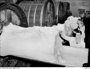 Butter from the churns Korumburra Butter Factory 1943