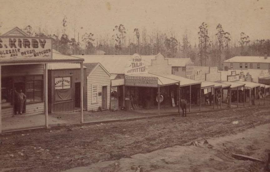 Main St Korumburra 1895