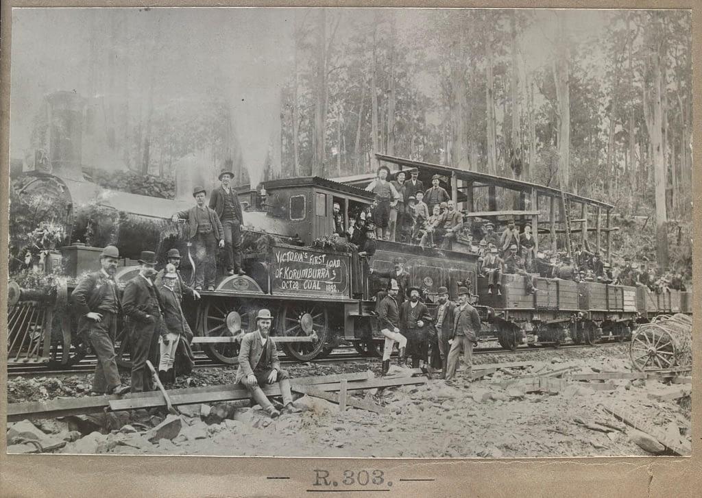 First load of Coal from Korumburra 28 Oct 1892